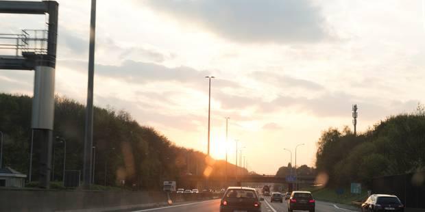 La E40 entre Louvain et Bruxelles entièrement rouverte à la circulation dès lundi - La Libre