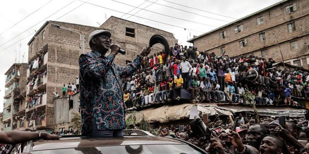 Kenya: Odinga ne cède pas et appelle ses partisans à rester chez eux lundi - La Libre