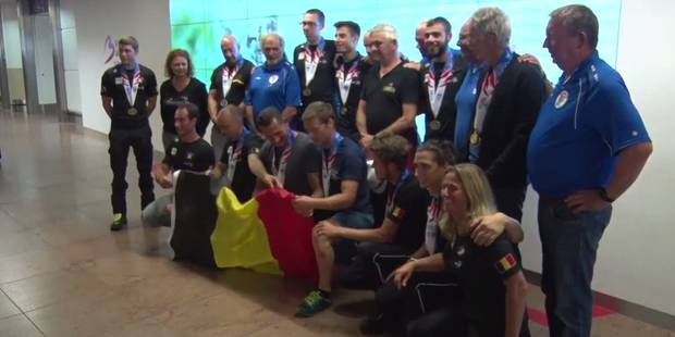 Les Belges remportent 62 médailles aux World Police & Fire Games (VIDEO) - La Libre