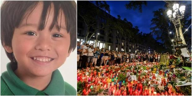 Attentats en Catalogne: le petit garçon de 7 ans Julian Cadman est décédé - La Libre