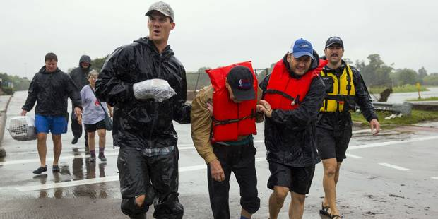 """Six décès """"peut-être liés"""" à la tempête Harvey autour de Houston - La Libre"""