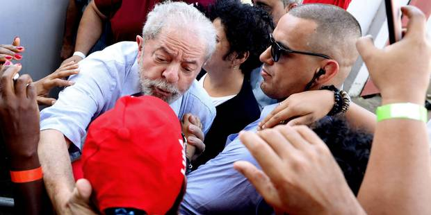 """Brésil: un ex-ministre affirme que Lula a signé un """"pacte du sang"""" avec le géant pétrolier Odebrecht - La Libre"""