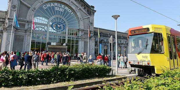 Charleroi: une ligne de bus à 50 millions - La Libre