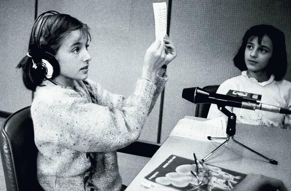 Letizia à 12 ans en 1984