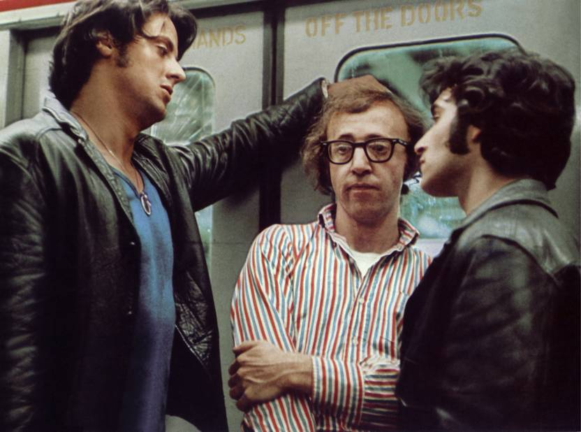 Avec Stallone dans Bananas en 1972