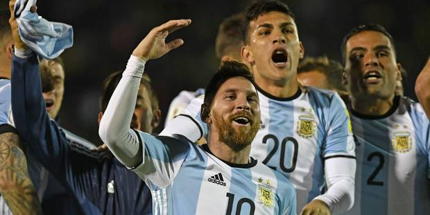 Messi qualifie l'Argentine, la surprise Panama, le Chili et les Etats-Unis n'iront pas en Russie - La Libre