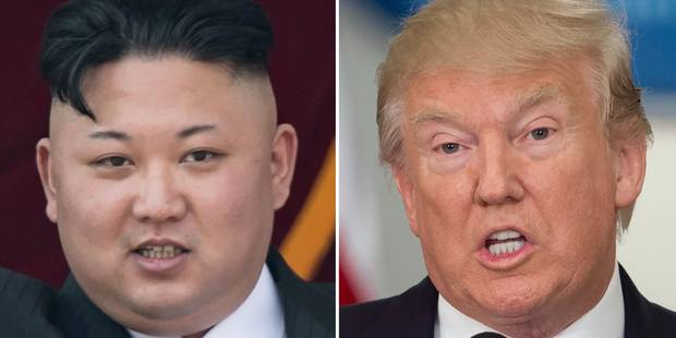 """Selon la Corée du Nord, Trump a allumé """"la mèche de la guerre"""" - La Libre"""
