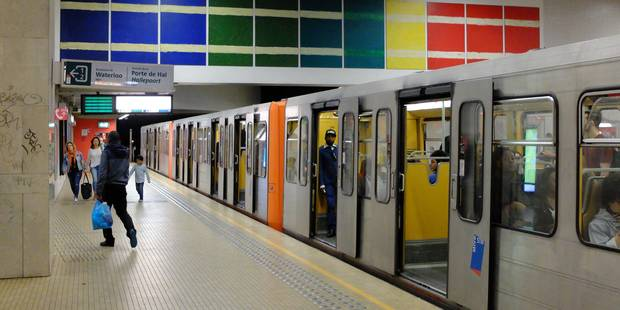 Le métro bruxellois sera interrompu entre Arts-Loi et Élisabeth ce week-end - La Libre