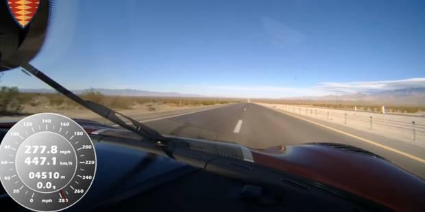 Voici la voiture la plus rapide du monde (VIDEO) - La Libre