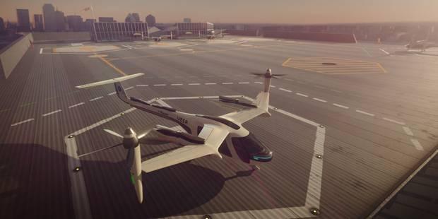 Uber veut lancer des taxis volants électriques avant les JO de Los Angeles - La Libre