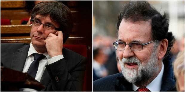 """Le parquet de Bruxelles requiert l'exécution du mandat d'arrêt contre Puigdemont, Rajoy """"fait confiance au pouvoir judic..."""