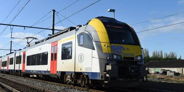 Accident de train à Morlanwelz: la circulation ferroviaire entre La Louvière et Charleroi a repris jeudi matin - La Libr...