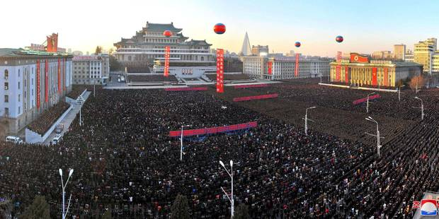 La Corée du Nord célèbre en grande pompe son dernier tir de missile - La Libre