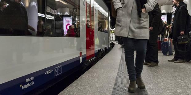 Une personne percutée par un train à Bruxelles-Central, retour progressif à la normale - La Libre
