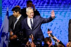 H elections en israël netanyahu et gantz au coude à coude