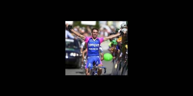 Simoni gagne l'étape, Frigo conserve son maillot - La Libre