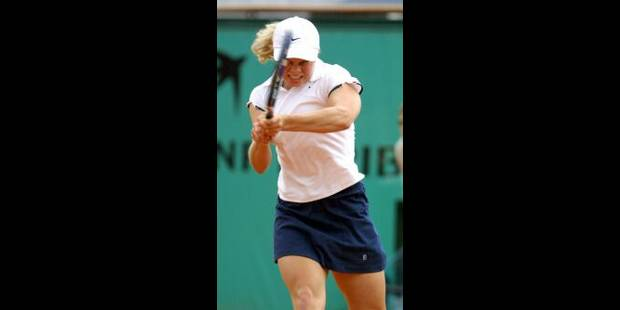Clijsters en finale contre Capriati