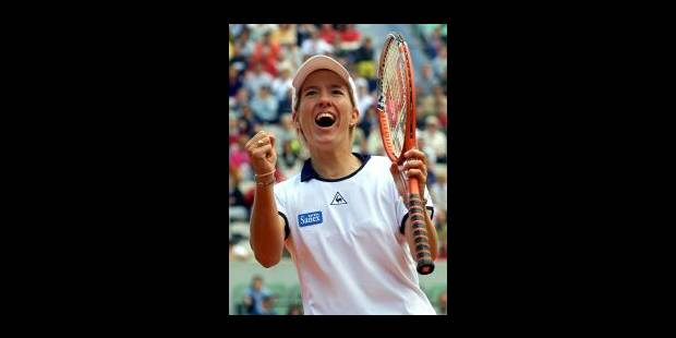 Justine Henin en démonstration à Roland Garros - La Libre