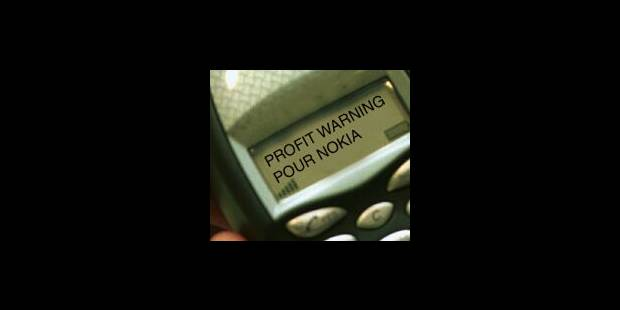 Nokia: nouveau «profit warning» - La Libre