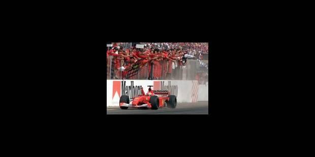 Schumacher s'offre un quatrième titre mondial - La Libre