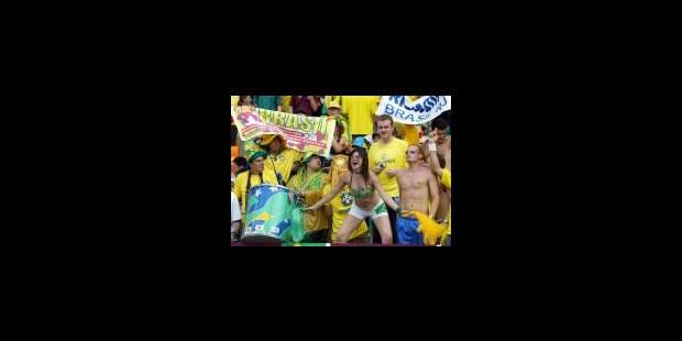 Seleçao-Mannschaft en finale - La Libre