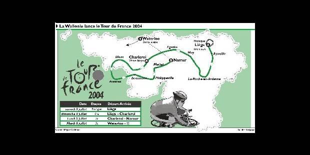 Le Tour 2004 prendra l'accent wallon - La Libre