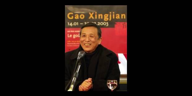 Gao Xingjian et l'éloge de la fuite - La Libre