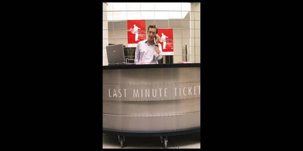 Comptoir bruxellois pour des tickets à moitié prix - La Libre