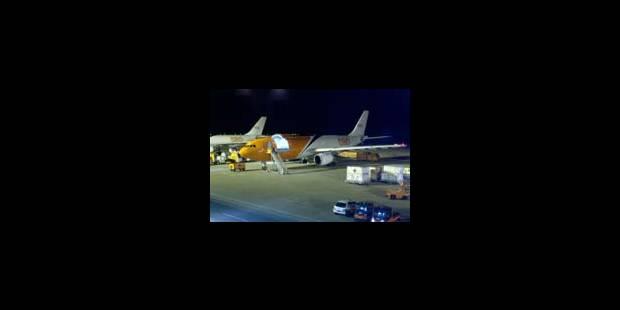 TNT voit la vie en rose à Liège-Airport - La Libre