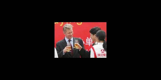 Inbev veut marquer l'histoire en Chine