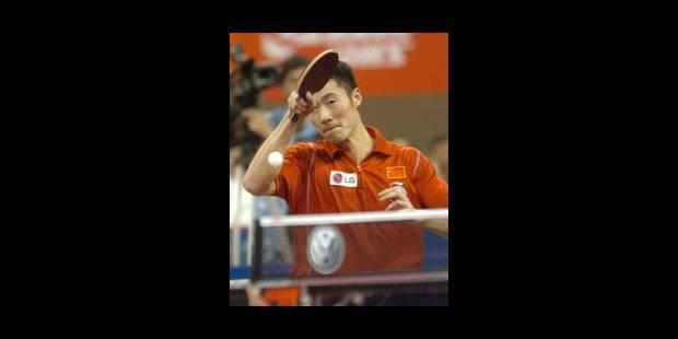 Wang Liqin comme à Osaka - La Libre