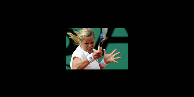 Kim Clijsters qualifiée pour le 3ème tour - La Libre