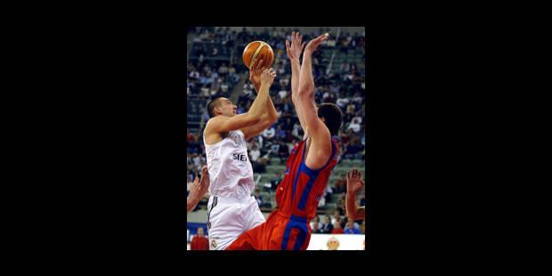 Axel Hevrelle, premier basketteur belge a être «drafté» en NBA - La Libre