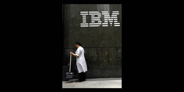 IBM va supprimer plus d'emplois que prévu - La Libre