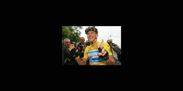 Armstrong gagne le Tour, Vinokourov l'étape