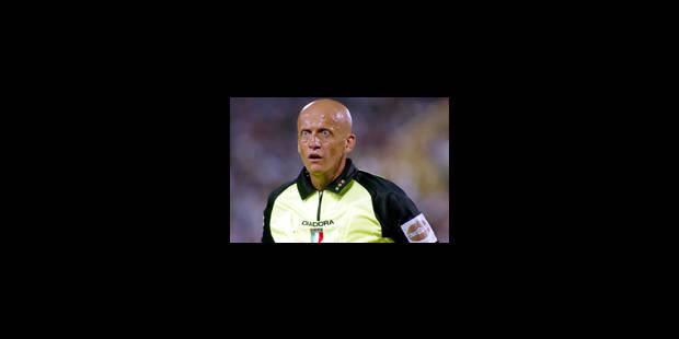 Pierluigi Collina n'arbitrera plus dans le Calcio italien - La Libre