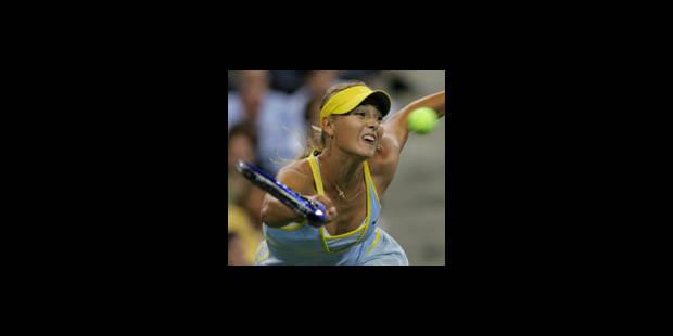 Maria Sharapova, la belle de match - La Libre