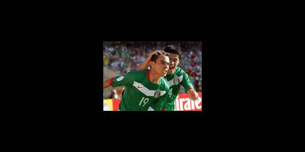 Victoire facile du Mexique sur l'Iran