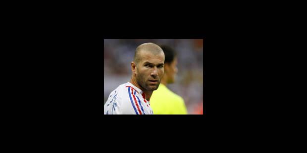 Zidane élu meilleur joueur du Mondial - La Libre