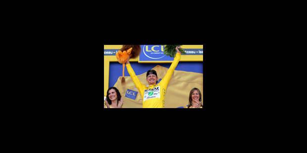 Landis retrouve le maillot jaune - La Libre