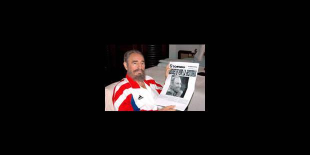 Castro: «Je me sens très heureux» - La Libre