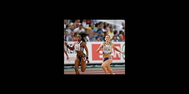 Kim Gevaert, championne d'Europe