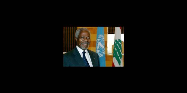 Kofi Annan en messager de la paix - La Libre