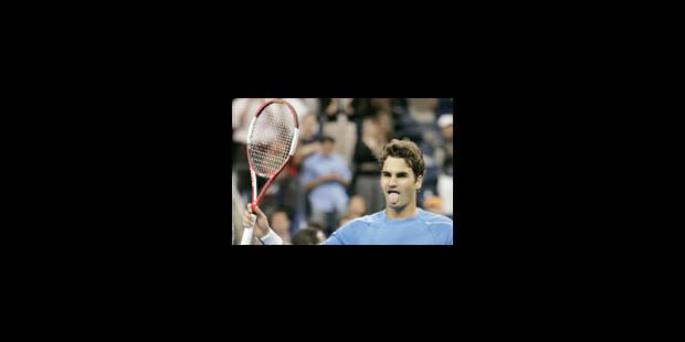 Un quart bien compliqué pour Roger Federer