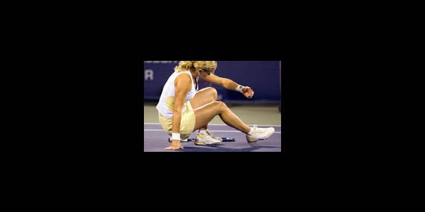 Kim Clijsters suivra le tournoi à la télévision - La Libre