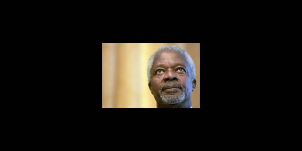 Qui succédera à Annan? - La Libre