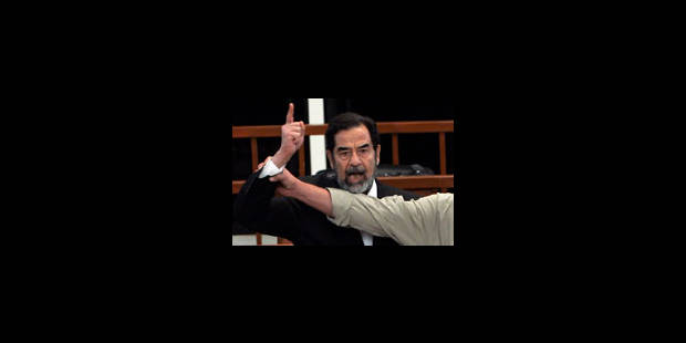 "Saddam Hussein pendu ""sans délai"" - La Libre"