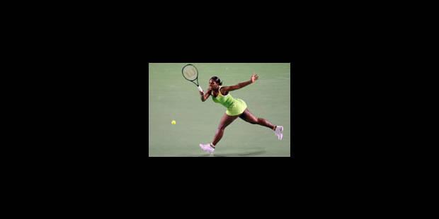 Premier coup d'éclat de Serena - La Libre