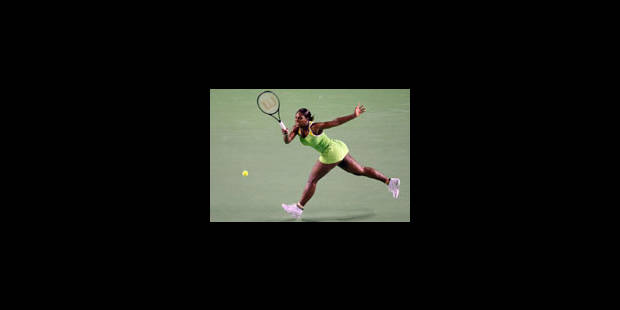 Premier coup d'éclat de Serena