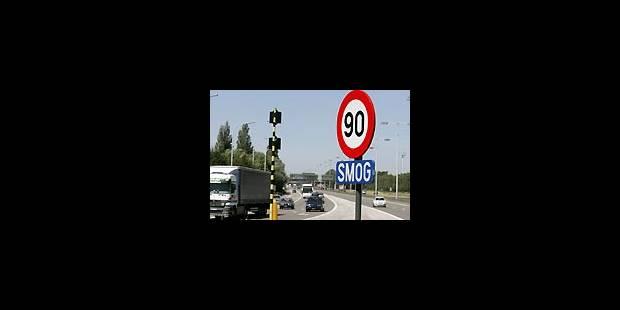 Flandre: vitesse limitée pour cause de pollution - La Libre